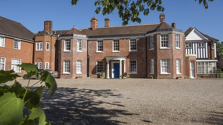 Hethersett Old Hall School is up for sale. Picture: Dave Guttridge
