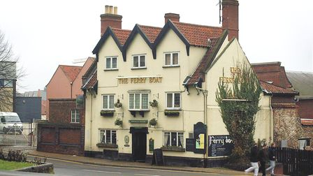 The Ferry Boat public house, on King Street in Norwich.<PIC by Natasha Lyster - COPY by Paul Hill><1