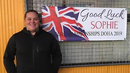 Shot putter Sophie McKinna, from Gorleston, has earned herself a spot at the Tokyo Olympics next yea