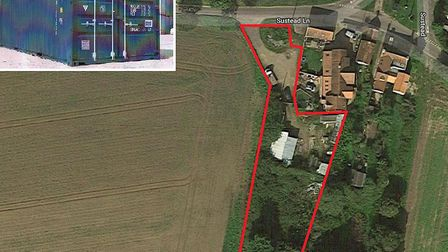 Plans to create a storage unit in a rural village have been called 'odd' by councillors in a plannin