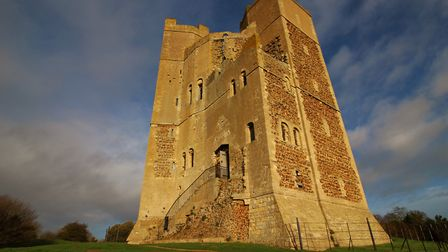 Orford Castle in the sunshine. Picture: Veronica Richardson, iwitness24