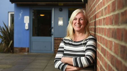 Homeless services manager Maria Pratt. Picture: ANTONY KELLY