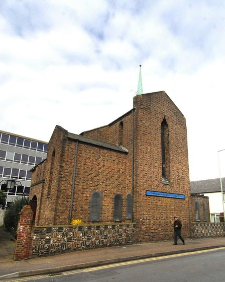 The Greek Orthodox Church of The Mother of God, Recorder Road, Norwich. PHOTO: ANTONY KELLY