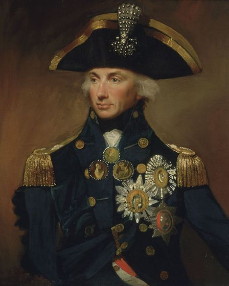 Lord Nelson - the Paston schoolboy. Picture: Archant