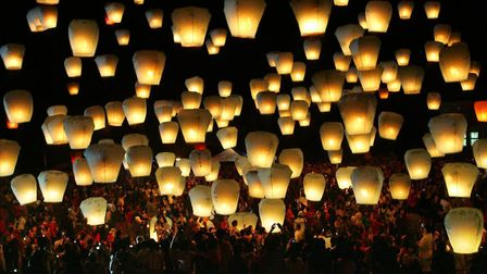 Norfolk County Council wants people to pledge to stop helium balloon and sky lantern releases. Pic:
