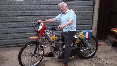 The Mighty Atom Billy Bales, now 90, remembers those speedway days at Norwich and Great Yarmouth.Pic