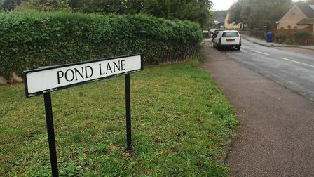 Pond Lane, in Brandon, where the shooting happened Picture: Chris Bishop