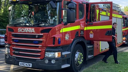 Firefighters have tackled a blaze in a Martham home. Picture: Archant