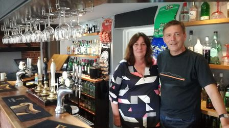 Marcia and Mark Noble, new leaseholders at the Canary and Linnet in Little Fransham, were keen to en