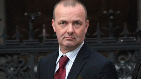 Sergeant Kevin McHenry outside London's High Court. Picture: Champion News