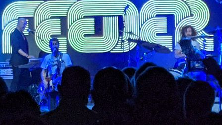 Feeder performing at Norwich's LCR. Picture: Marc Betts
