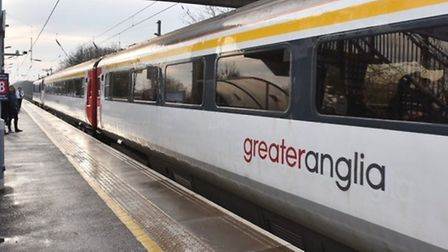 Train services are disrupted after a person was hit by a train. Picture: Archant