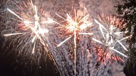 Fireworks at a previous display in the region. PHOTO: Mick Howes