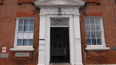 King's Lynn coroners court, at Ikon Bishop's House on the Tuesday Market Place Picture: Chris Bisho