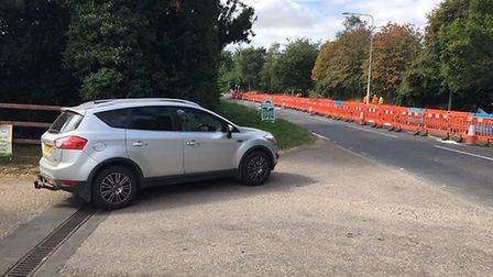 People in Hethersett said customers are avoiding the village due to roadworks on Norwich Road. Photo