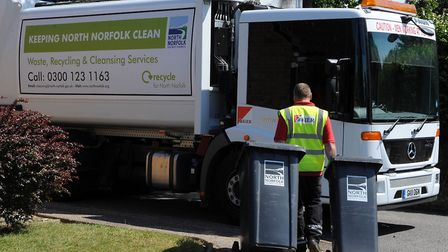 North Norfolk District Council is set to spend millions of pounds on new bin lorries. Photo: Submitt