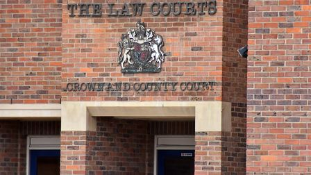 Nathan Atkins has gone on trial at Norwich Crown Court for a series of offences including rape. PICT