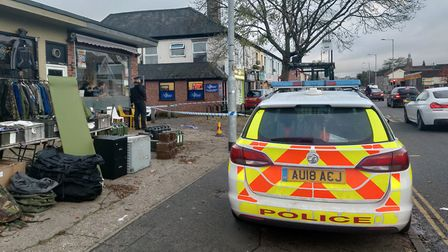 Two people have been seriously injured after a stabbing on Dereham Road. Picture: Dominic Gilbert