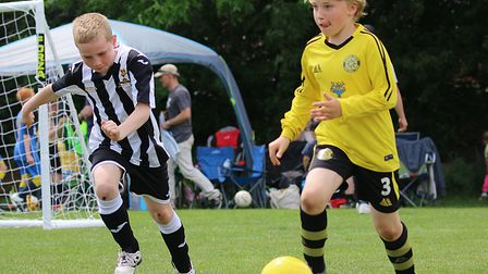 Youth football teams in Norfolk are struggling to keep up with demand. Picture: Alan Palmer.