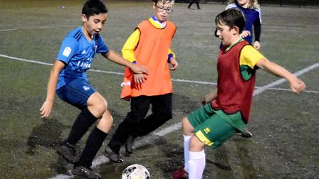 New community football sessions have launched in Lowestoft on Monday evenings under the banner of th
