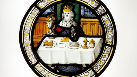 Stained-glass roundel Picture: Norfolk Museums Service