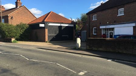 The car park of British Red Cross in Norwich Road, Wymondham, clsoe to where Stephannie Payne was fo