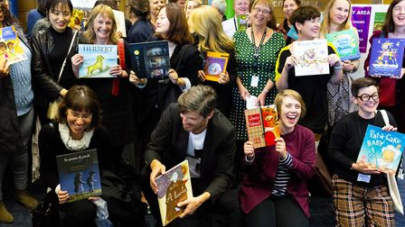Guests from the 28 UNESCO Cities of Literature each donate a picture book to the Norfolk and Norwich