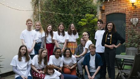 Norfolk pupils from ten schools who worked with National Centre for Writing to put on a festival in