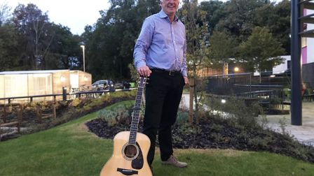 UEA senior lecturer Steve Smith has become known for his musical approach to teaching. Picture: Ella