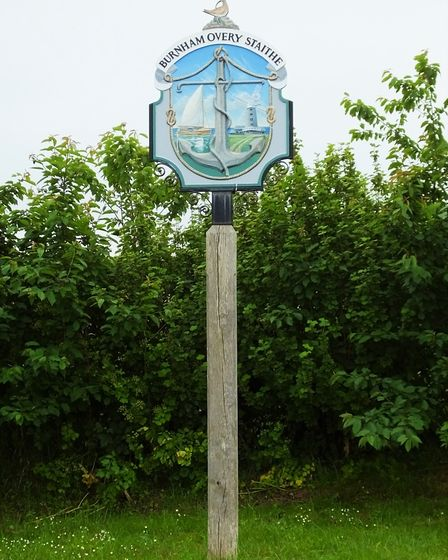 The village cross of Burnham Overy Staithe has been saved. Picture: DR ANDREW TULLETT