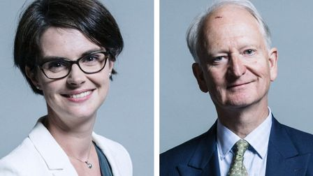 Chloe Smith and Henry Bellingham have welcomed the news of a Brexit deal. Picture: UK Parliament