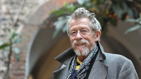 John Hurt at Cinema City in Norwich for a screening of The Elephant Man in 2013. Photo: Bill Smith