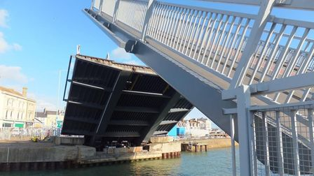 Overnight work is due to take place on the Bascule Bridge in Lowestoft. Picture: Highways England