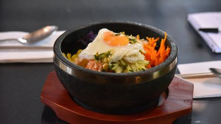 Kimchi is a new Korean restaurant in Norwich. Picture: Jamie Honeywood