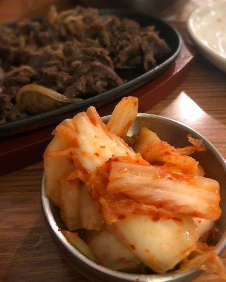 Restaurant review of The Kimchi restaurant in Norwich. The kimchi. Photo: Lauren Cope