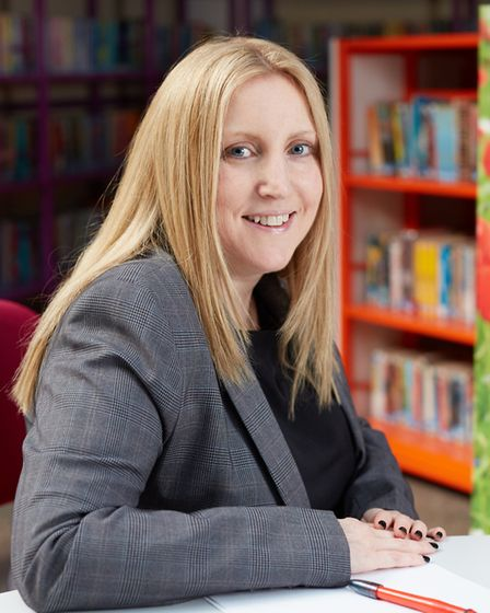 Tamsin Poulter, principal at Cliff Park Ormiston Academy in Gorleston. Picture: Fuller Photography