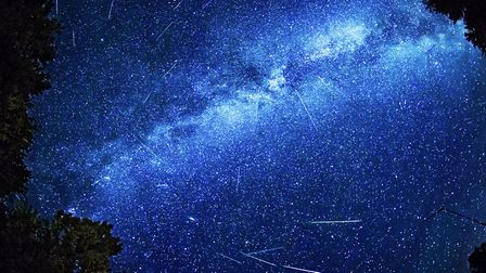 The Orionid meteor shower is set to peak tonight. Photo: Getty Images