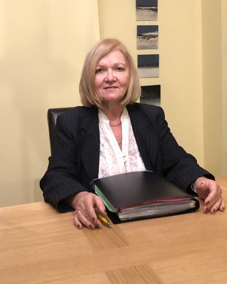 Jane McLaughlin, a Norwich solicitor who has offered advice to people who receive 'fines' from priva