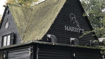 The new signage outside at Harry's. Gone is the old Pedro's sign. Pic: Victoria Pertusa, Archant.