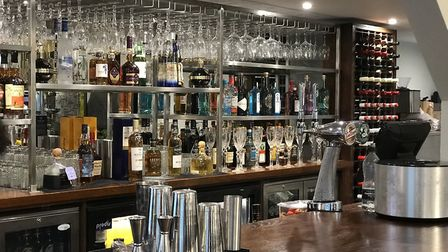 The bar at Harry's where you can drink without eating. Pic: Victoria Pertusa, Archant
