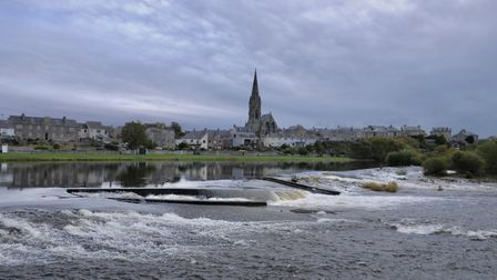 The mighty Tweed at the Junction Pool Picture: John Bailey