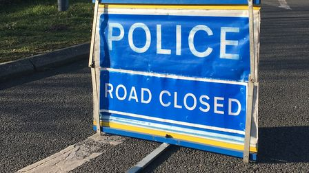 Two sections of the A47 are closed this evening following serious crashes Photo: Simon Parkin