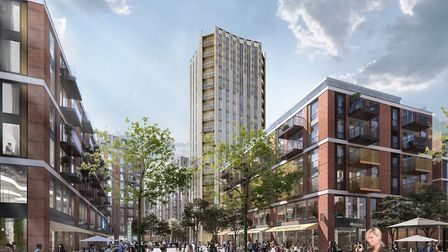 The plans include a 20-storey tower in Anglia Square. Photo: Weston Homes