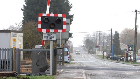 There are three level crossings where lines leave Ely North at Queen Adelaide Picture: Helen Drake