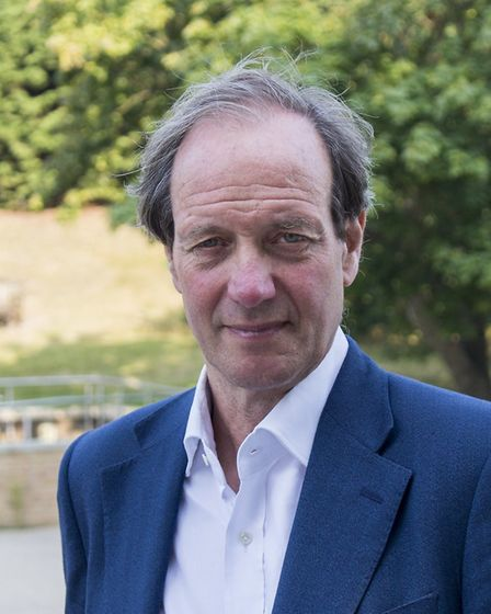 Andrew Jamieson, cabinet member for finance at Norfolk County Council. Pic: Norfolk County Council.