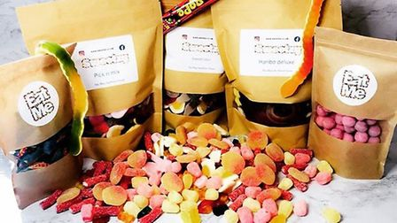You can order pick 'n' mix sweets delivered to your door. Pic: Sweetzy