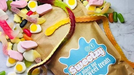 A mixed goodie pouch from Sweetzy. Pic: Sweetzy.