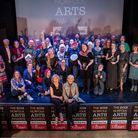 The 2019 Norfolk Arts Awards at St George's Theatre, Great Yarmouth. All the winners together with h