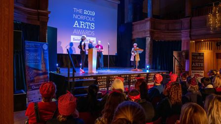 The 2019 Norfolk Arts Awards at St George's Theatre, Great Yarmouth. Photo credit ©Simon Finlay Phot
