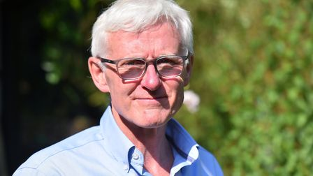 Norman Lamb, pictured at his home in Norwich, voted against the government to support the Letwin ame